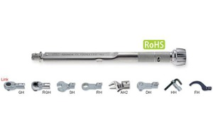 TOHNICHI  CL-MH (Interchangeable Head Type Adjustable Torque Wrench)