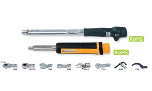 TOHNICHI  CL/CLE (Interchangeable Head Type Adjustable Torque Wrench)